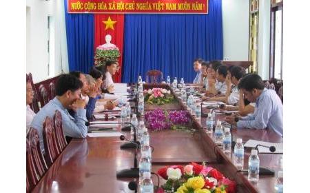 Viện Nghiên cứu Bông và Phát triển nông nghiệp Nha Hố làm việc với UBND huyện Ninh Sơn, Ninh Thuận trong đẩy mạnh hợp tác chuyển giao khoa học công nghệ vào sản xuất nông nghiệp
