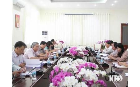 Thông qua dự kiến Kế hoạch tổ chức Lễ hội Nho và Vang-Ninh Thuận 2019