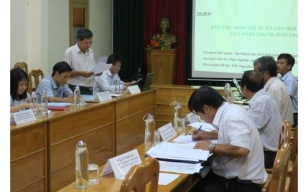 """Nghiệm thu đề tài cấp Tỉnh: """"Bảo tồn, đánh giá và tư liệu hóa nguồn gen cây mãng cầu ta Bình Thuận"""""""